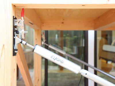 大分県初 総合住宅展示場の敷地内に「地震対策制振体感棟」常設設置