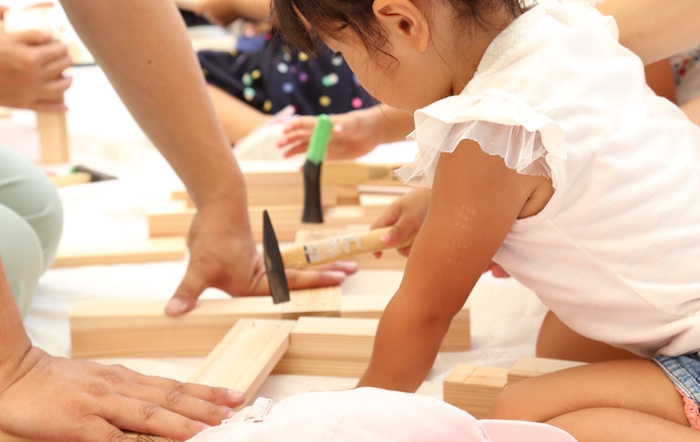 こども工務店「工作教室」 坂井建設木育プロジェクト