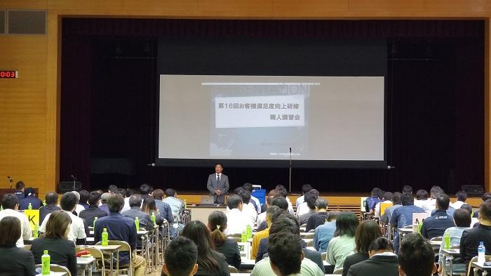 坂井建設 第16回職人講習会 代表の坂井|工務店集客ドットコム