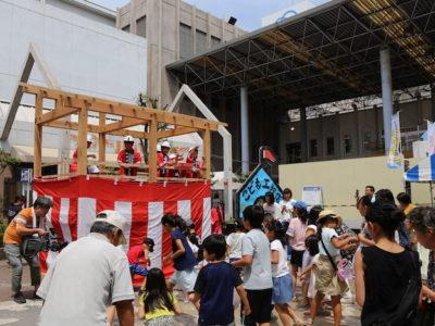 夏の工作イベント「こども工務店」が取材されました。