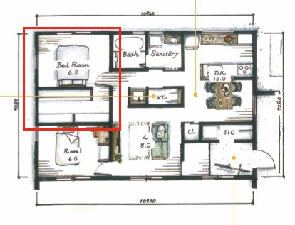 間取り|坂井建設の住宅新商品「sakai」