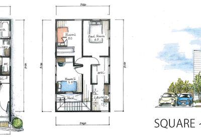 エアコンだけで快適新住宅『sakai』