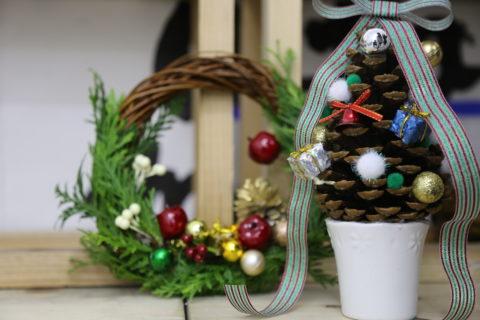 クリスマスリース作り|工務店集客ドットコム