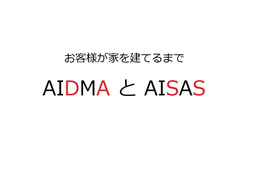 お客様が家を建てるまで① AIDMAとAISAS|工務店集客ドットコム
