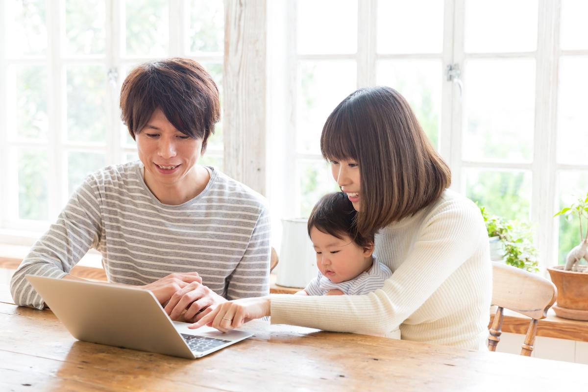 工務店集客ドットコム|工務店のホームページを見る家族2